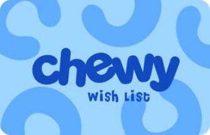 chewy wish list